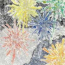 「想い花火」部分1  2013.4~7