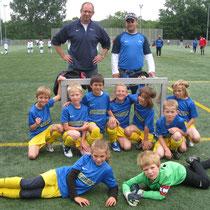 unsere Mannschaft beim Karlsfelder Turnier