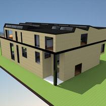 Neubau Wohnhaus und Werkstatt
