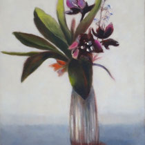 Vase | 2019 / 2021 | Öl auf Leinwand | 40 x 30 cm