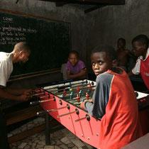 Centre d'accueil d'enfants des rues.Kinshasa