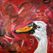 vanity, 2009, 40 x 40 cm, Öl auf Leinwand
