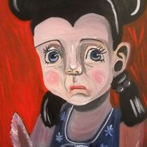 Bunny, 2009, 100 x 70 cm, Öl auf Leinwand