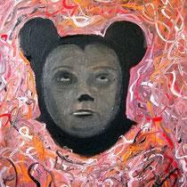 o.T, 2012, 50 x 40 cm, Öl auf Leinwand