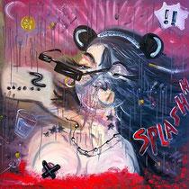 Minnie Mouse, 2009, 100 x 100 cm, Öl auf Leinwand Foto: © lappe-photoart