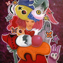 rebirth, 2010, 60 x 40 cm, Öl auf Leinwand