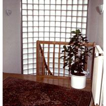 Glasbausteine im Treppenhaus