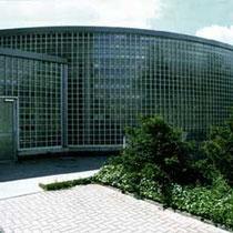 Glasbaustein-Außenwand