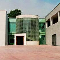 Treppenhaus Verglasung, Berufsschule Köln-Gremberg