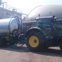 Wir dürfen diverse Biogasanlagen zu unseren Kunden zählen!