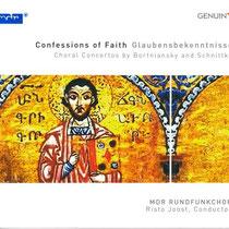 Glaubensbekentnisse - Choralkonzerte von Bortnjanski und Schnittke - MDR Rundfunkchor; Risto Joost, Dirigent