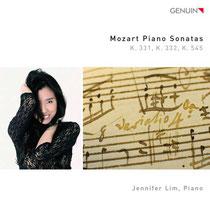Mozart Klaviersonaten KV 331, 332, 545 - Jennifer Lim, Klavier