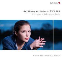 Johann Sebastian Bach - Goldberg-Variationen BWV 988 - Marie Rosa Günter, Klavier