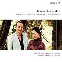 Schubert-Menuhin - Klavierwerke zu vier Händen von Franz Schubert  - Mookie Lee-Menuhin, Klavier; Jeremy Menuhin, Klavier