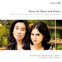 Duos for Oboe and Piano - Werke von Schumann, Ludwig, Poulenc und Haas - Katherine Needleman, Oboe; Jennifer Lim, Klavier