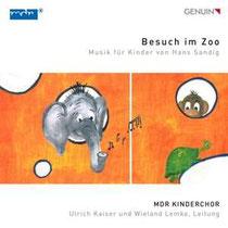 """Besuch im Zoo - Musik für Kinder von Hans Sandig - MDR Kinderchor; Ulrich Kaiser, Leitung; Wieland Lemke, Leitung, Instrumentalensemble """"Tierisch musikalisch"""""""