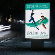 Affiche spectacle danse 2018 -Saint-Quentin-en-Yvelines