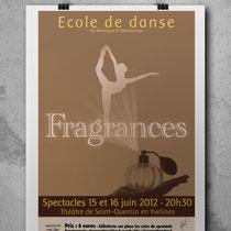 Affiche spectacle danse