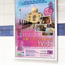 Affiche Exposition - Office de Tourisme de Saint-Quentin-en-Yvelines - Agence Pragma