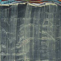 I_2, 2008, Acryl/HF, 100 x 100 cm