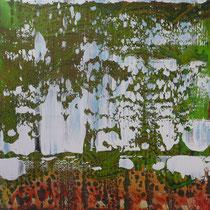 I_5, 2008/09, Acryl/HF, 100 x 100 cm