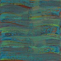 W2, 2007,   Acryl/LW, 100 x 100 cm