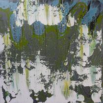 I_6, 2008/09, Acryl/HF, 100 x 100 cm