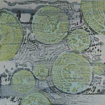 I_7, 2013, Acryl/HF, 100 x 100cm