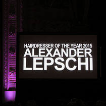 HAIRDRESSER OF THE YEAR - ALEXANDER LEPSCHI