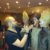 Avantgarde Fashion Show für den Hairdressing Award in Belgien 2012 - Alexander Lepschi