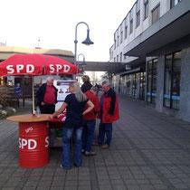 SPD-Infostand in der Eschenpassage