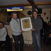 Glückwunsch an Daniel Kappes zur Ernennung zum Ehrenmitglied!