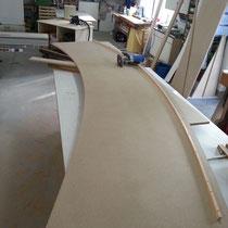 Fräsen der runden Deckplatte