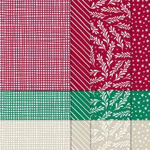 """Designerpapier """"Klassische Weihnachten"""""""