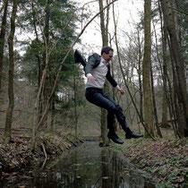 """Fotosession für """"24 Anleitungen"""". Foto: Michael Schrenk. 2010."""