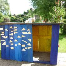 Gemeinschaftsarbeit Xaver und Wastl Haus