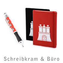 Hamburg Notizbuch, Geschenke