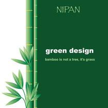 """Flyer """"Green Design"""" - mit freundlicher Genehmigung von Sleurs Badkamermeubelen, Bocholt (Belgien)"""