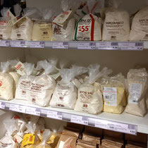 Best and biggest selection of Tipo 00 flour I have ever seen.  Luggage allowance 23 kg per bag?