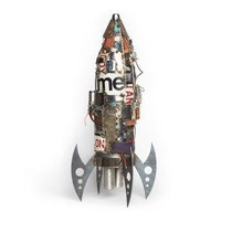 Mercury Rocket found object by Guinotte Wise      $950   SOLD