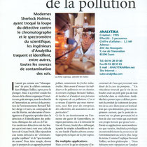 Les limiers de la pollution (Var Magazine 15-07-1999)