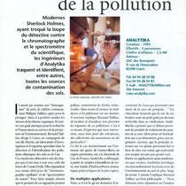 Les limiers de la pollution (Var Magazine 15-07-1999)