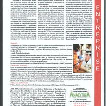 Quand un laboratoire part en guerre contre la pollution (Conch Magazine 15-02-2003)