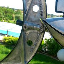 Rekin II and Tornadofish : sculpture montée sur axe ©BycZyk