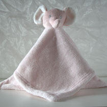 Schmusetuch Elefant rosa