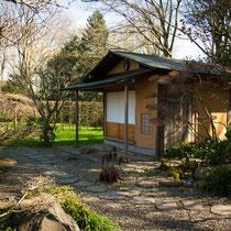 Teegarten im Frühjahr
