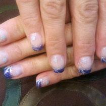 Uñas de Gel Glitter