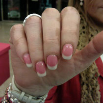 Uñas de Gel Fantasia Rosa