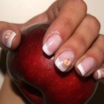 Uñas de Gel con decoración a la Francesa