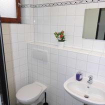 Beispiel Waschkabine mit WC Damen